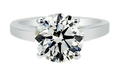 1.07ct Natural Round Diamond Solitaire Engagement Ring F Color I1 Watch Video