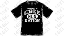 Property Of Cree Nation 8x Colors Available Native American Free Ship T-shirt