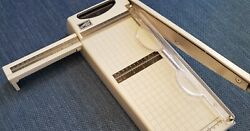 Stampin Up Heavy Duty Paper Trimmer Cutter Removable Handle Guillotine Rareandnbsp