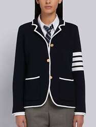 Thom Browne 4-bar Double-face Sport Coat Size 38