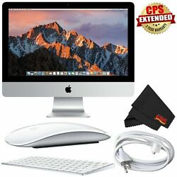 Apple 21.5 Imac Mid 2017 Mmqa2ll/a Bundle With 2 Year Extended Warranty
