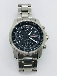 Victorinox Swiss Army Air Force 9g600 Automatic Chronograph Swiss Watch