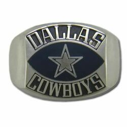 Dallas Cowboys Contemporary Style Silver Nfl Ring
