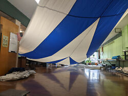 New Cruising Spinnaker 52.5and039 Luff 48and039 Leech 39and039 Foot Ready To Ship