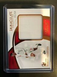 2018-19 Immaculate Soccer Marcus Rashford Match Worn Game-day Swatches Patch /50