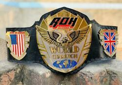Ring Of Honor World Wrestling Champion Belts Adult Size