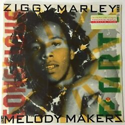 Ziggy Marley And The Melody Makers Lp Conscious Party 1988 Sealed Hype Sticker