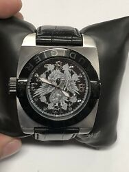 Christian Audigier Watch Model For207 Stainless Steel 316l Gs