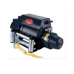 Vi Universal Tds-12.0i 12000lb Pound Electric Recovery Winch 12v Steel Cable
