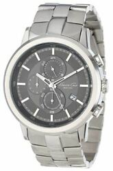 Kenneth Cole New York Menand039s Japanese Quartz Stainless Steel Watch Kc9225