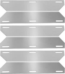 Bbq Grill Heat Plate, 3pc Stainless Steel Heat Shield Tent, Burner Cover