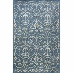 Bashian Greenwich Peyton 7and0399 X 9and0399 Area Rug In Azure