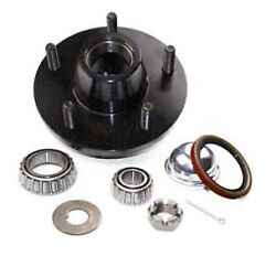 1963-1968 Corvette Hub Front With Seals And Bearings And Wheel Studs