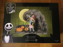 Department 56 The Nightmare Before Christmas Jack And Sally Figurine Led Lit