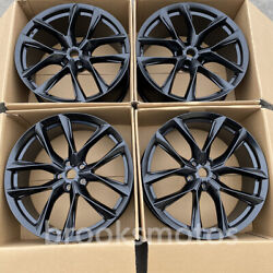 21 New Twin 5 Spoke Style Flow Form Wheels Fit For 2017+ Jaguar F Pace Svr 21x9