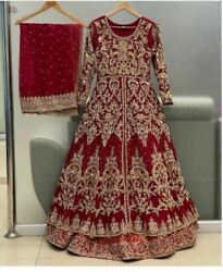 New Arrival Exclusive Traditional Maxi Anarkali Wedding Gown Latest Voguemart5