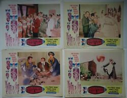Vincent Price/dr Goldfoot And The Girl Bombs/ul13/ 4 Original Lobby Cards