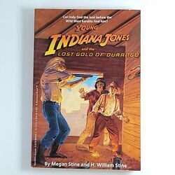 Vintage 1993 Rare Paperback Young Indiana Jones And The Lost Gold Of Durango