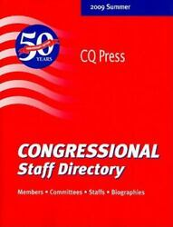 Congressional Staff Directory 2009 111th Congress, First Session
