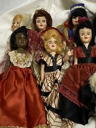 Arco Standard Oil Dolls Of The World 1960/70 Promotion Dolls In Country Dress