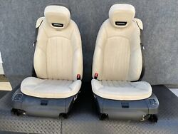 ✔mercedes R230 Sl550 Sl63 Front Left And Right Amg Sport Seats Seat Set Oem