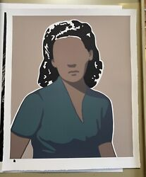 Adriana Oliver - Someone To Love - Signed And Numbered Screen Print Edition Of 75