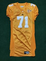 Tennessee Vols 71 Authentic Game Worn Adidas Football Jersey Men's Sz 50 Rare
