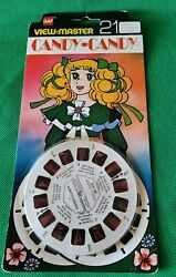 Sealed Bd201f Candy-candy Japanese Early Anime Tv Show View-master Reels Pack