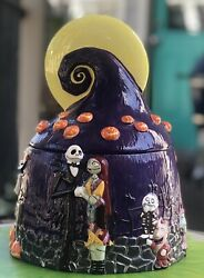 New Collectible Disney Nbc Nightmare Before Christmas Cookie Jar