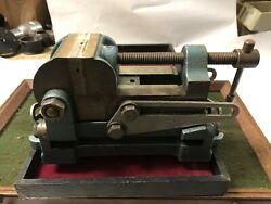 Machinist Tool Lathe Mill Palmgren Side And Vertical Tilt 2 1/2 Mill Drill Vise
