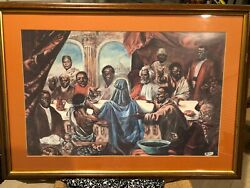 New African American Heroes, Framed Artwork By Artistic Cornell Barnes