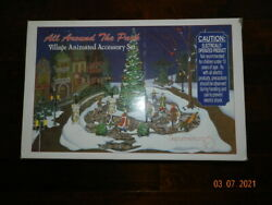 Department 56 All Around The Park Village Animated Accessory Set