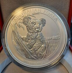 2015 Koala 30 1 Kilo Silver Coin From Perth Mint In The Display Box.