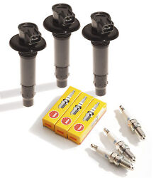 Sea Doo 4-tec Ignition Coil And Ngk Plugs 3 Pack Gti Gts Se Limited Rental 130 155