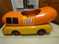 Vintage Oscar Mayer Wienermobile, Ride-on Pedal Car. Rare Promotional Model Toy.