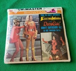 Sealed H3 Electrawoman And Dynagirl Krofft No 2 Tv Show View-master Reels Packet