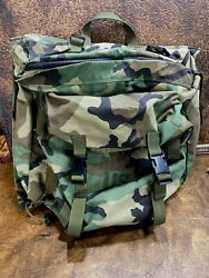 Specialty Defense Sds Us Military Army Usgi Woodland Camo Molle Patrol Pack