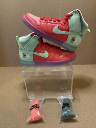 Nike Sb Dunk High Strawberry Cough Size 9.5