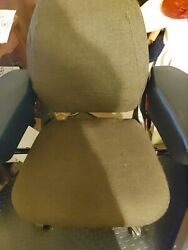 Original Custom Made Office Chair With Metal Frame And John Deere Tractor Seat