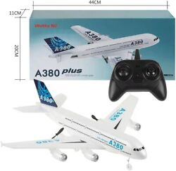 A380 Remote Control Epp Rc Airplane Glider Diy Aircraft Kids Gift Toys