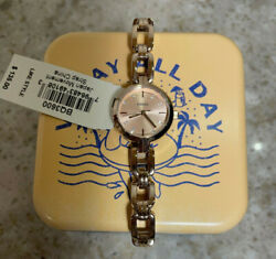 Fossil Women#x27;s Watch Rose Gold BQ3600 24mm Case NEW w Tin $49.99