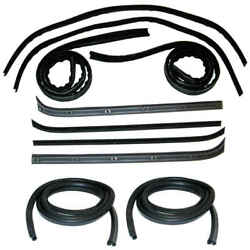 Window Channel And Felt Sweep Belt And Door Seal Kit For 73-79 Ford Pickup Truck 10p
