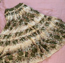 Spell And The Gypsy Free People Coco Lei Olive Skirt New Xs