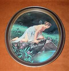 White Rock Beer 14.5x11.5 Serving Tray Nymph Goddess Fairy Art