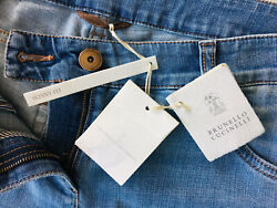New With Tags 925 Brunello Cucinelli Women Denim Jeans Pants Size 42/us 6
