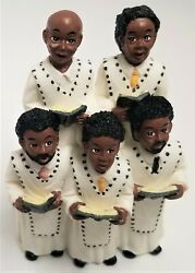Vintage Figurines African American Church Choir Young#x27;s Inc 1996