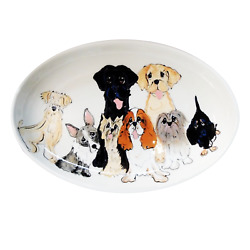 Best In Breed Trophy Serving Plate Breed Show Trophy Customized Dog Trophy