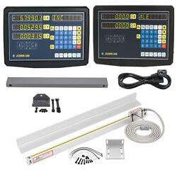 Us Digital Linear Scale 2axis/3axis Readout Dro Display Kit Cnc Milling Lathe