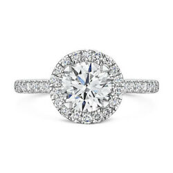 Solid 950 Platinum 0.40 Ct Natural Diamond Wedding Semi Mount Ring In All Sizes