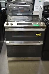 Ge Jss86spss 30 Stainless Double Oven Electric Range Nob 107085